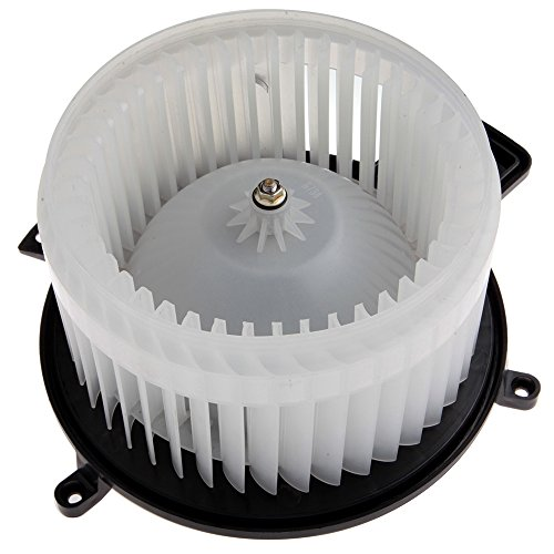 HVAC plastic Heater Blower Motor w/Fan Cage ECCPP for 2008-2016 Chrysler Town Country /2011-2017 Dodge Durango /2008-2017 Dodge Grand Caravan /2011-2017 Jeep Grand Cherokee