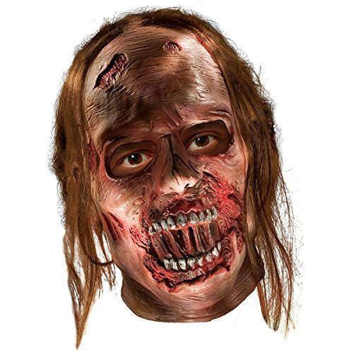 Decayed Zombie Latex Mask Costume Accessory