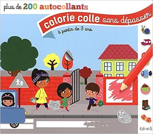 Livre gratuits en ligne Colorie colle sans dépasser : L'école ; La ferme ; Le marché. A partir de 3 ans pdf ebook