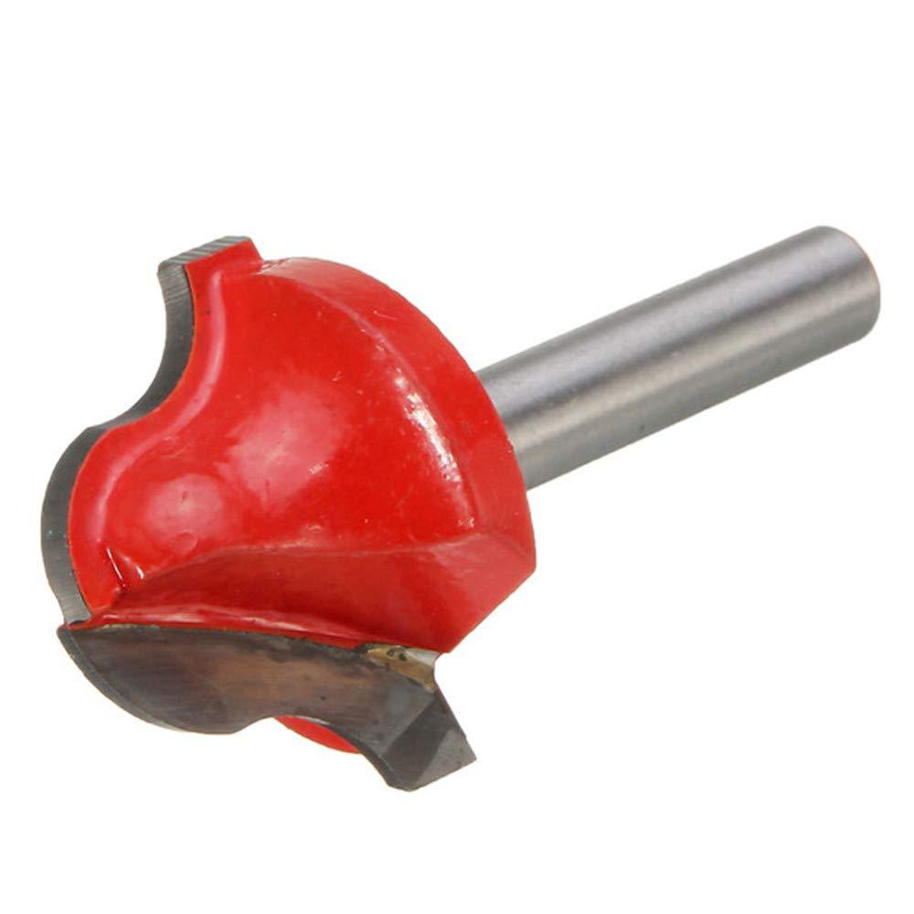 Xueliee Fraise-fraise en carbure de tungst/ène CNC 6 mm x 25,5 mm