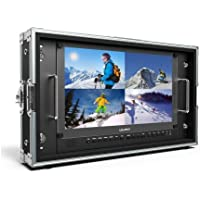 Lilliput Monitor LCD 15,6 3840x2160 INFLIGHT CASE, IN :HDMI 4K/SDI/ DVI/VGA/AV, OUT: SDI - BM150-4K …