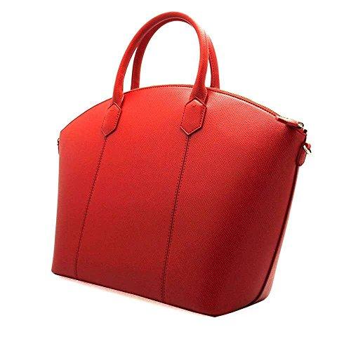 Emporio Armani Borsa a mano Rosso Nueva Llegada La Venta En Línea Escoger Una Mejor Línea Venta Fiable Con Paypal En Línea Barata Comprar Barato Precio Más Bajo u9bhdxc
