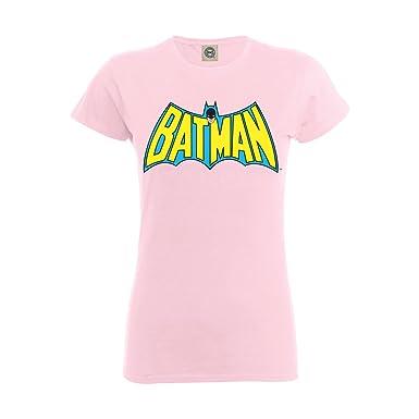 e8f11b2de389 DC Comics Girls Official Batman Retro Logo Kids T-Shirt  Amazon.co ...