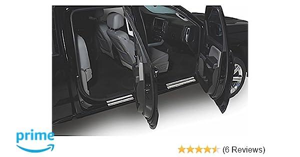 for Jeep Wrangler JK 2007 to 2015 Car Door Sill Door Entry Scuff Plates 4D Carbon Fiber Vinyl Sticker Door Step Plate 4PCS Car-Styling