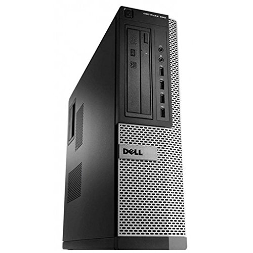 Dell OptiPlex 990 DT Quad Core i5-2400 8GB 1000GB DVDRW Windows 10 64-Bit Desktop PC Computer (Renewed)