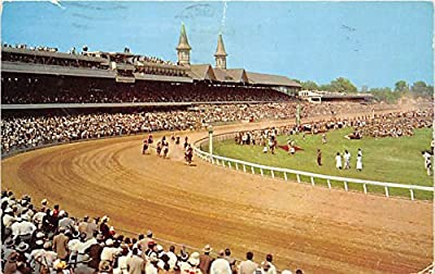 Churchill Downs, Home of the Kentucky Derby Louisville, Kentucky, KY, USA Old Vintage Horse Racing Postcard Post Card