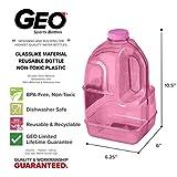 GEO 1 Gallon (128oz) BPA Free Reusable Leak-Proof