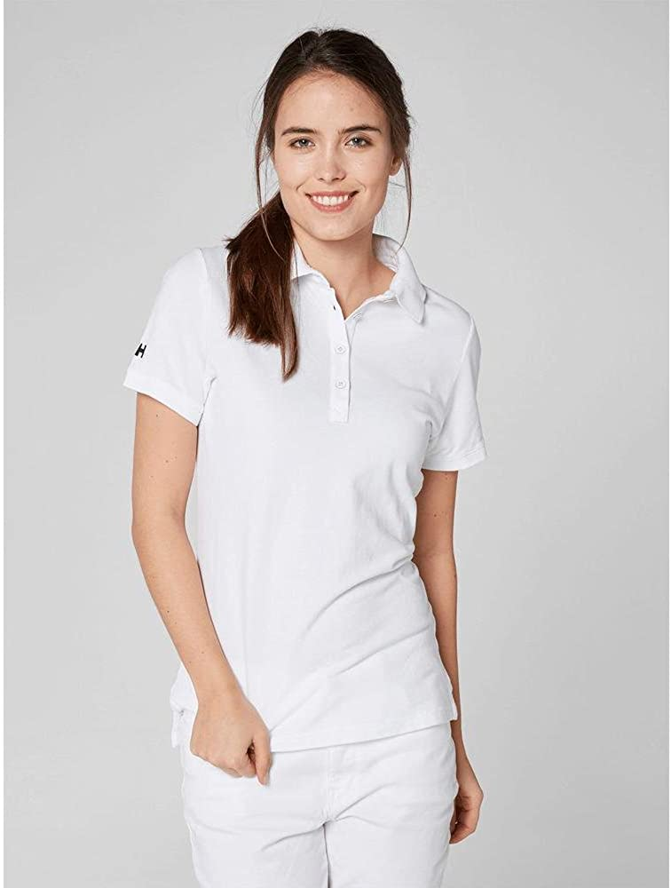 Helly Hansen Women's Crew Pique 2 Polo Shirt White