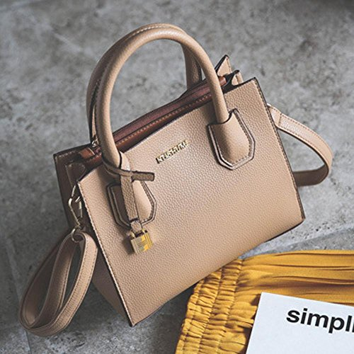 Aoligei Litchi Small Tattoo Fashion Trend Bag Europe Messenger Bag Single Shoulder B