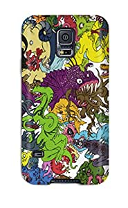 New Arrival Premium S5 Case Cover For Galaxy Monster Madness