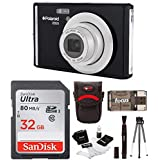 Polaroid iE826 Digital Camera, 18MP 8x Optical Zoom with 2.4 Display 32GB Bundle