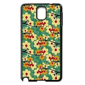 Vintage Flower ZLB543818 Custom Phone Case for Samsung Galaxy Note 3 N9000, Samsung Galaxy Note 3 N9000 Case