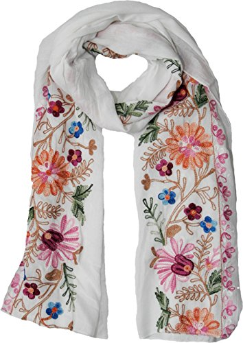 Beautiful Floral Scarf - 7
