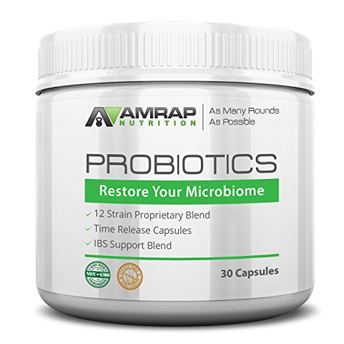 AMRAP Nutrition Probiotics Probiotic Digestion