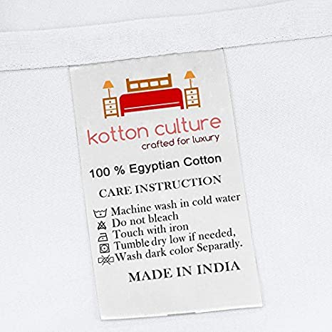 Kotton Culture 600 Thread Count 100/% Organic Cotton Duvet Cover with Corner Ties /& Zipper Closer Certified Luxurious California King//King, White Durable and Ultra Soft