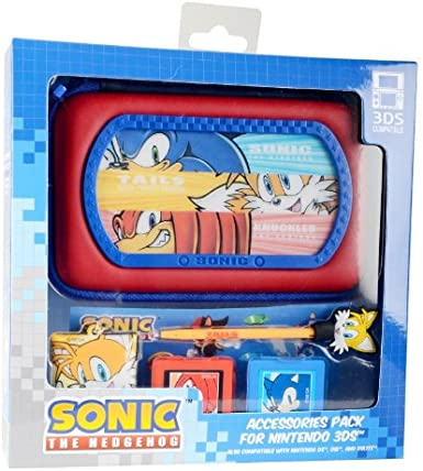 Sonic The Hedgehog 6-in-1 Accessory Kit (Nintendo 3DS/DS ...