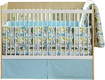 Amazon Com Dwell Studio Crib Bedding Set Motif Robin Baby