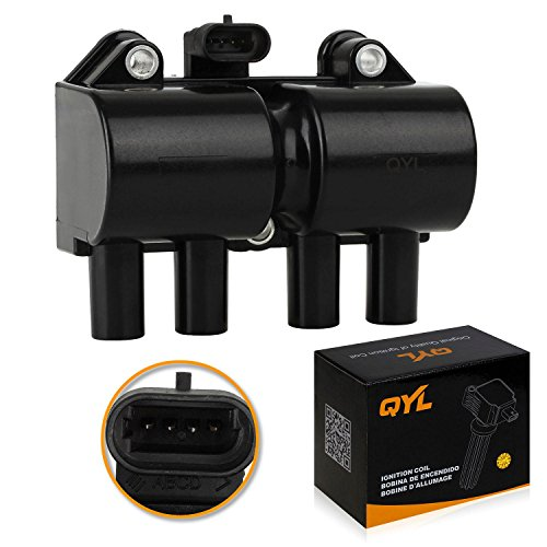 (QYL Ignition Coil Pack Replacement for Daewoo Lanos Leganza L4 2.0L 2.2L)