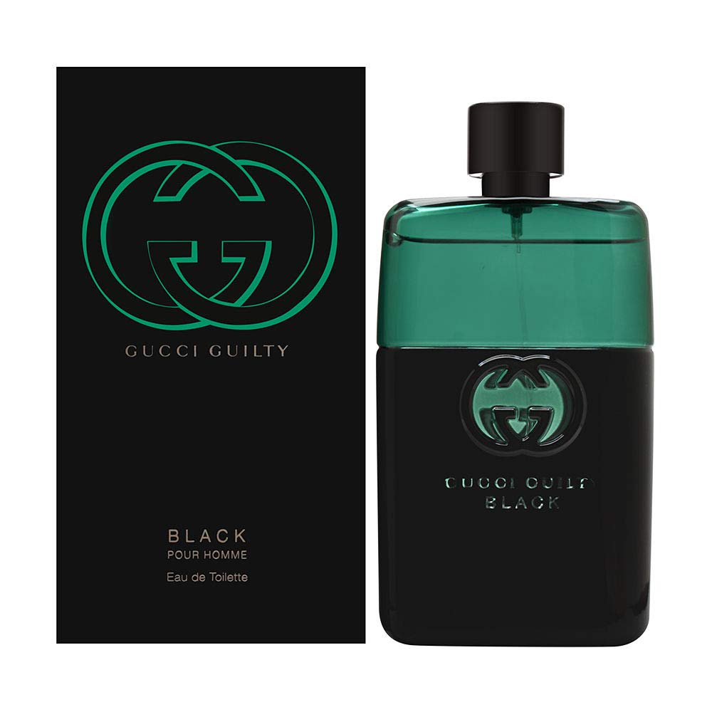 Gucci Guilty Black by Gucci for Men 3.0 oz Eau de Toilette Spray