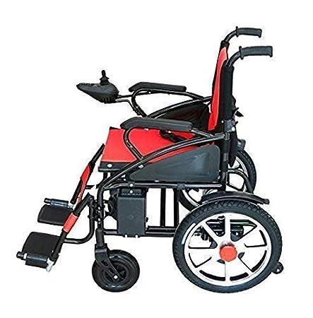Mobile Wheelchair, Intelligent Electric Motorized Wheelchair, Portable Folding Lightweight Power Wheel...