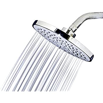 Shower Head Rainfall High Pressure 6 Rain High Flow Fixed Luxury Ch