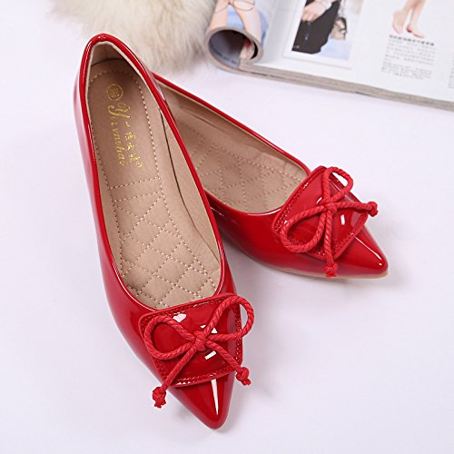 nine flat shoe top bottom Pointed shoes Thirty shoe single flat Donyyyy wqP1pBvCF1
