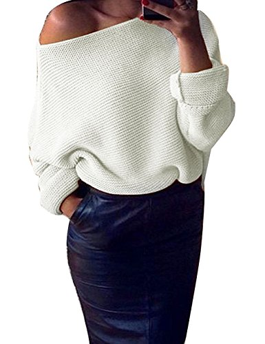 Minetom Femme Automne Pull Casual