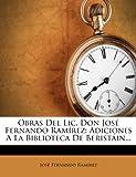 Obras Del Lic Don José Fernando Ramírez, José Fernando Ramírez, 1278108645
