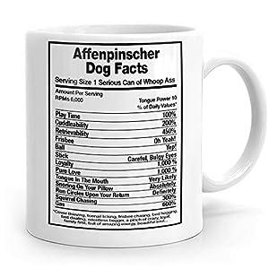Affenpinscher Dog Facts, Affenpinscher Gift, Affenpinscher Mug, Affenpinscher Cup, 4