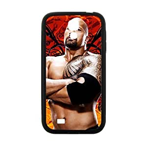 Happy WWE World Wrestling The Rock Black Phone Iphone 4/4S