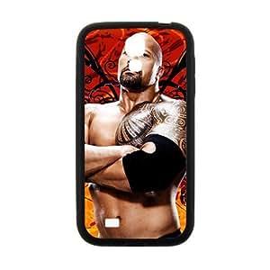 Happy WWE World Wrestling The Rock Black Phone Iphone 5/5S