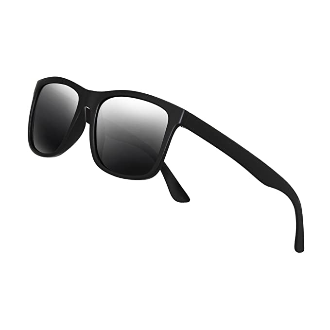 Polarized Sunglasses for Men TR90 Unbreakable Mens Sunglasses Driving Sun Glasses For Men/Women
