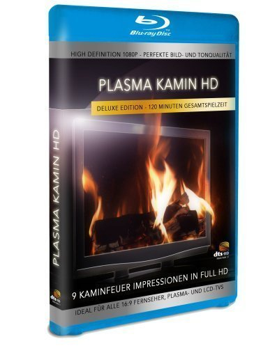 Plasma fireplace HD - 9 fire Impressions in High Definition [Blu-ray] [Del ... by Buschproduction (High Definition Fireplace)