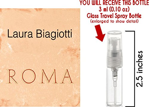 Roma by Laura Biagiotti Glass Mini Travel Spray for Women ()
