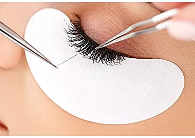 50/100/300 Pairs Lint Free Under Eye Gel Patches for Eyelash Extension Eye Mask Beauty Tool