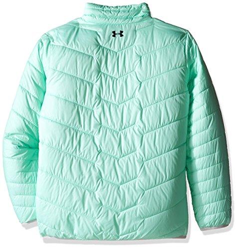 Under Armour ColdGear de los niñas Reactor chaqueta Crystal/Glacier Gray