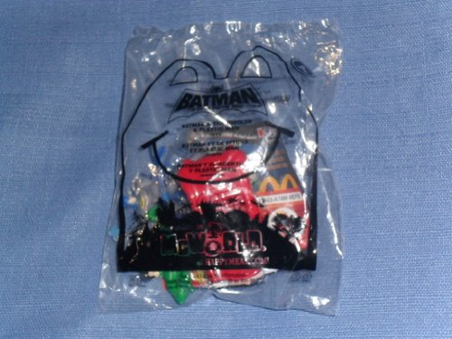 2011 McDonalds Happy Meal . . . Batman The Brave and the Bold . . . Batman & The Riddler & Plastic Man Toy . . . #4 (Plastic Man Batman Brave And The Bold)