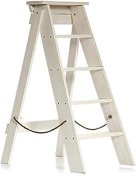 J-Escalera de Tijera Portátil 5 Niveles Plegables Taburete Escalera Estable Baja Estante Puesto De Flores, Familia Cocina Adulto Niño (Color : D): Amazon.es: Bricolaje y herramientas