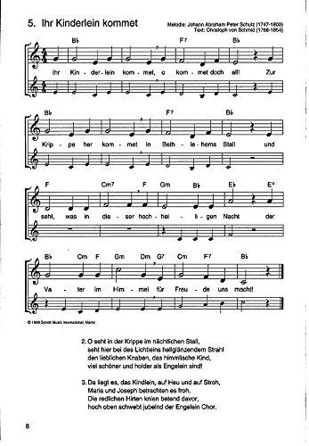 Weihnachtslieder Für Erwachsene.Die Schönsten Weihnachtslieder Notenausg M Audio Cds Für