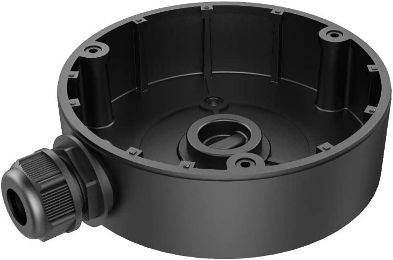 DS-1280ZJ-DM8 Junction Box Mount for Hikvision Turret Camera Black