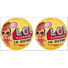 L.O.L Surprise Dolls - Series 3 - Lil Sisters Ball - Newest Series - Pack of 2