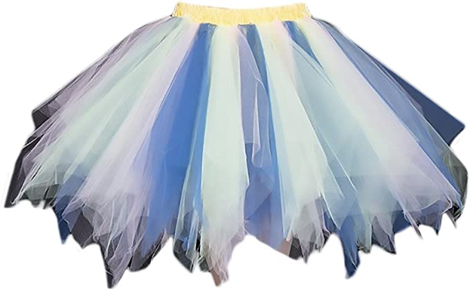 Faldas Mujer Falda Tul Tutu Mini Falda Ballet Princesas Ropa Dama ...