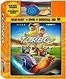 Turbo (Blu-ray / DVD Combo + Toy Racer)