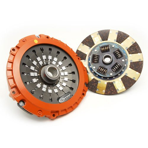 Clutch Disc Valve (Centerforce DF039020 Dual Friction Clutch Pressure Plate and Disc with Throw Out Bearing)