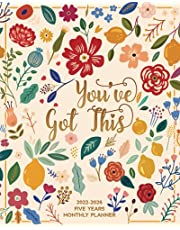 2022-2026 Five Years Monthly Planner - You've Got This: 60 Months Yearly Planner Monthly Calendar, Agenda Schedule Organizer and Appointment Notebook with Federal Holidays and Inspirational Quotes