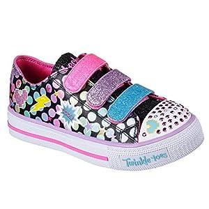 Skechers Kids' Shuffles-Poppin' Posse Sneaker