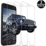 iPhone 7 Screen Protector, iPhone 8 Screen Protector,3 PACK Yoyamo Clear Tempered Glass Screen Protector 3D Touch Screen Protection Case for iPhone 8,iPhone 7
