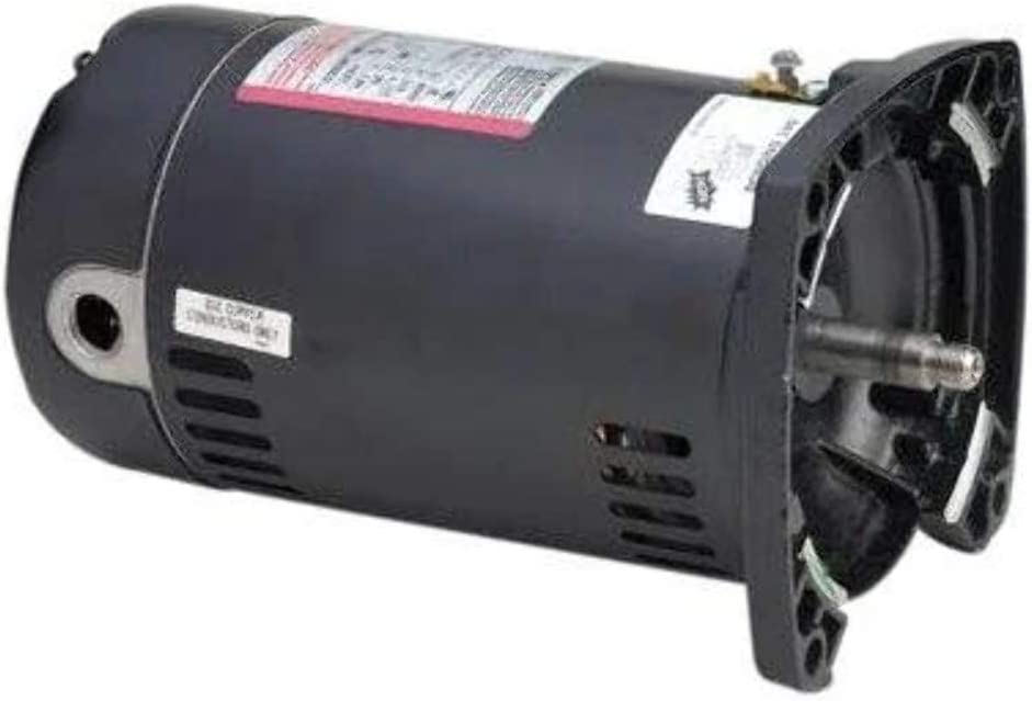 USQ1052 - 1/2 HP, 115/230 VOLT - Century Swimming Pool & Spa Pump Motors 48Y Square Flange