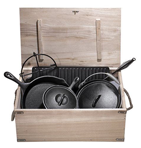 Buy cast iron cooking set