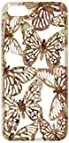 JUJEO Hollow Butterflies Plastic Case Shell for iPhone 5/5S, Non-Retail Packaging, Gold